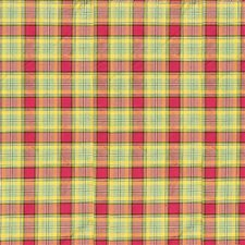 Leaf/Ru Plaid Decorator Fabric by Lee Jofa