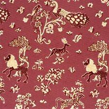 Poppy Animal Decorator Fabric by Lee Jofa