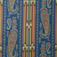 Blue Paisley Decorator Fabric by Lee Jofa