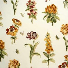Gold/Leaf Botanical Decorator Fabric by Lee Jofa