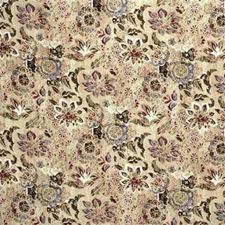 Bronze/Garnet Print Decorator Fabric by Lee Jofa