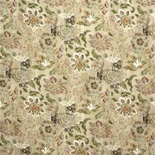 Leaf/Berry Print Decorator Fabric by Lee Jofa