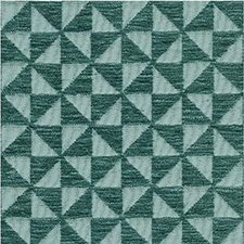 Aqua/Teal Geometric Decorator Fabric by Lee Jofa