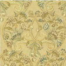 Flax Botanical Decorator Fabric by Lee Jofa