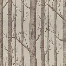 Brown Botanical Decorator Fabric by Lee Jofa