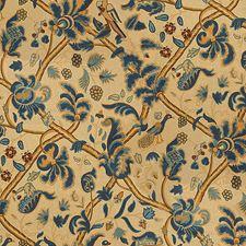 Indigo/Berry Jacobeans Decorator Fabric by Lee Jofa