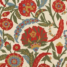 Multi Embroidery Decorator Fabric by Lee Jofa