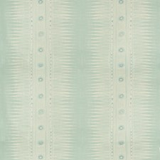 Aqua Ethnic Decorator Fabric by Lee Jofa