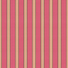 Pink Stripes Decorator Fabric by Lee Jofa