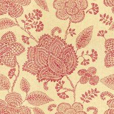 Fuchsia Botanical Decorator Fabric by Lee Jofa