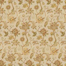 Gold/Brown Jacobeans Decorator Fabric by Lee Jofa