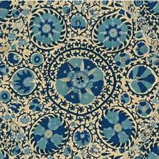 Blues Asian Decorator Fabric by Lee Jofa