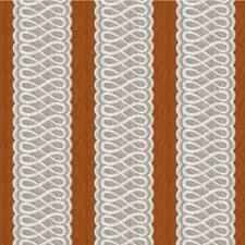 Spice/Taupe Stripes Decorator Fabric by Lee Jofa