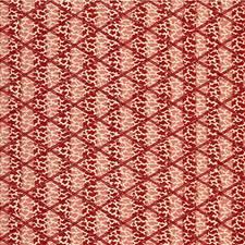 Red Animal Decorator Fabric by Lee Jofa