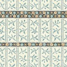Aqua Ethnic Decorator Fabric by Lee Jofa