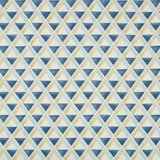 Sky/Blue Geometric Decorator Fabric by Lee Jofa