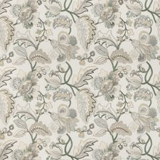 Leaf/Mist Botanical Decorator Fabric by Lee Jofa