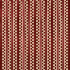 Berry Stripes Decorator Fabric by Lee Jofa
