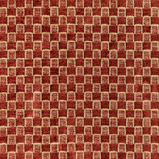 Cinnabar Check Decorator Fabric by Lee Jofa