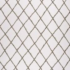 Green Lattice Decorator Fabric by Lee Jofa