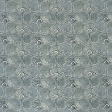 Blue Botanical Decorator Fabric by Lee Jofa
