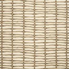 Brown/Ecru Lattice Decorator Fabric by Lee Jofa