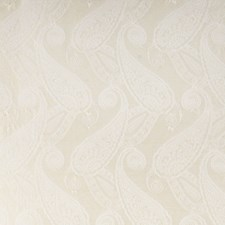 Ivory Paisley Decorator Fabric by Fabricut