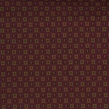 Burgundy/Red/Beige Geometric Decorator Fabric by Kravet