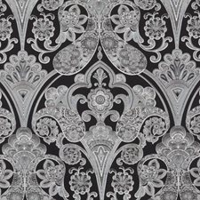 Jet Paisley Decorator Fabric by Duralee