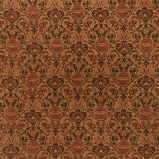 Green/Rust Ethnic Decorator Fabric by Kravet