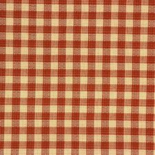 Beige/Rust Plaid Decorator Fabric by Kravet