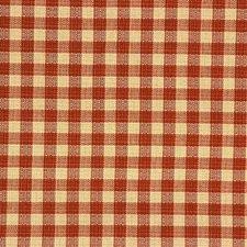 Beige/Rust Plaid Decorator Fabric by Kravet