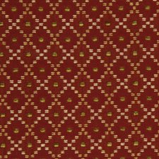 Red Hot Decorator Fabric by Robert Allen
