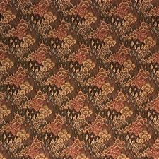 Green/Burgundy/Red Crypton Decorator Fabric by Kravet