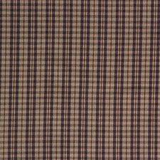 Purple/Beige Plaid Decorator Fabric by Kravet