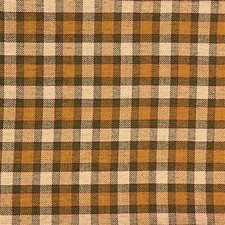 Green/Gold Plaid Decorator Fabric by Kravet