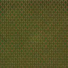 Green/Burgundy/Red Diamond Decorator Fabric by Kravet