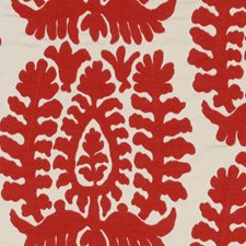 Lacquer Red Decorator Fabric by Robert Allen