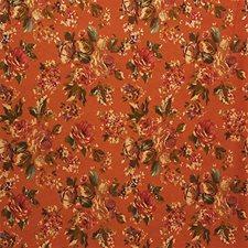 Rust/Purple/Yellow Decorator Fabric by Kravet
