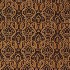 Blue/Beige Paisley Decorator Fabric by Kravet