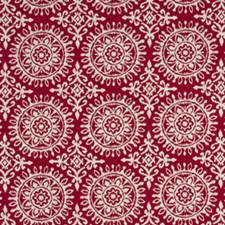 Red Lacquer Decorator Fabric by Robert Allen