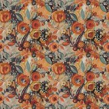 Mango Floral Decorator Fabric by Fabricut