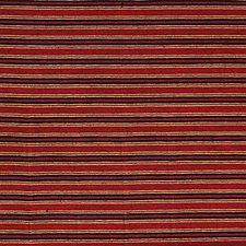 Burgundy/Red/Blue Stripes Decorator Fabric by Kravet