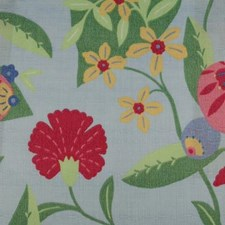 Sky Blue Decorator Fabric by Duralee