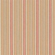 Beige/Burgundy/Red Stripes Decorator Fabric by Kravet