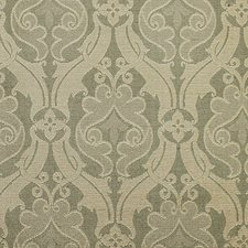 French Blue/Tan Decorator Fabric by Scalamandre