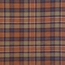 Brown/Green/Beige Plaid Decorator Fabric by Kravet