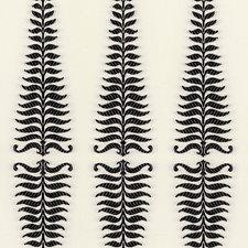 Noir/Creme Decorator Fabric by Schumacher