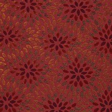 Cerise/Cinnabar Decorator Fabric by Schumacher