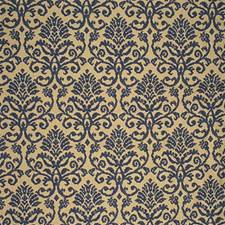 Classic Navy Damask Decorator Fabric by Kravet